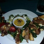 Surf and Turf Kabob (lobster and steak)
