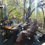 Brunch at Jaci's Safari Lodge after the morning game drive