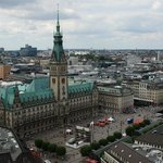 View of the Rathaus from the church tower