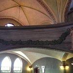 タンペレ大聖堂内部のヒューゴ・シンベリによる壁画 Hugo Simberg, Cathedral in Tampere
