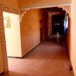 Pasillo de acceso a las habitacions