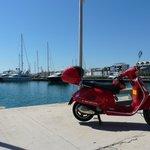 En el puerto de Valencia