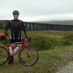 Me at Ribbleshead Viaduct