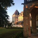 the beautiful Chateau and chapel