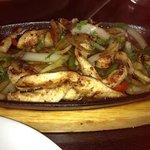 wonderful tasty chicken fajitas!