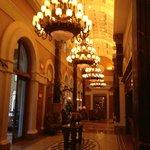 Small, but elegant lobby