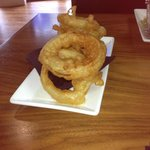 Massive onion rings!