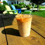 Iced Door County Coffee on a hot summer day!