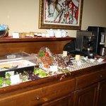 Un buffet de petit déj de qualité