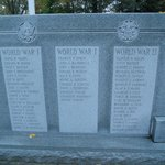 Memorial for all  Bratt soldiers in all wars