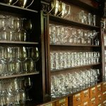 Dining - glass cabinet