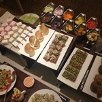 Executive lounge, free evening buffet