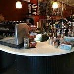 their espresso station