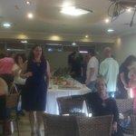 Having fun at U Coral Beach Club