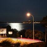 vista mare notte