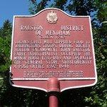 Ralston District Sign