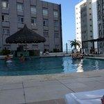 piscina na sombra