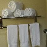 Fresh Towels daily