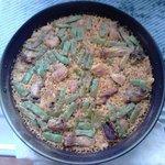 paella valenciana de Quiques Restaurant