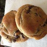 Warm gluten free cookies!!