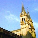 Torres de la Merced desde Caseros y 20 de Febrero