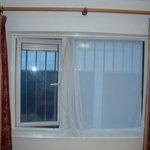 Gitter im Fenster von Raum 38