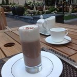 chocolat chaud au Ritz Carlton