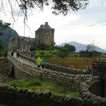 Eilean Donan Castle near Invermoriston