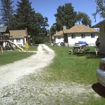 All Seasons Resort (owned by the Cuhran Family) is located on Paradise Lake in Carp Lake, MI. Ju
