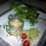 Potted crab starter