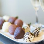 Chocolate Covered Strawberries Amenity