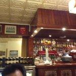 bar interno del restaurante