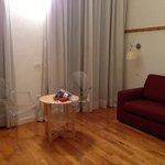 Sala de estar de nuestra habitación
