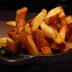 Hand Cut Fries Cooked in Non-GMO Rice Bran Oil