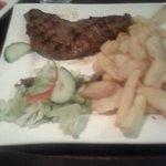 Beautiful beef rump steak