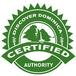 Certification from Discover Dominica Authority
