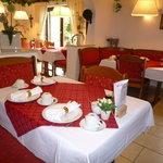 Frühstückszimmer bei Gästehaus PensionZeranka in Ruhpolding