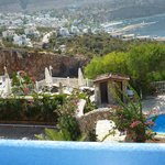 View of Kalkan from the pool