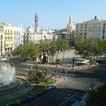Vista  plaza del ayuntamiento