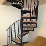 Spiral Staircase in Townhouse 4