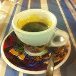 Espresso to finish