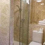 Spacious en-suite showers