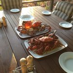 Mud crab at 6pm every evening. Doesn't get much better than this! P
