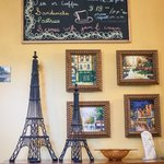 Cute French-themed decoration...
