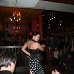 Flamenco show at the Copas