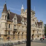 Balliol College- view from the room window.