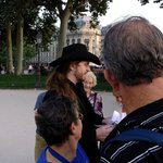 Father Sebastiaan, the leader of the Paris Vampire and Ghost Tour