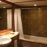 old but big enugh bathroom