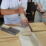 Soba-making experience