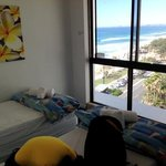 the 2nd bedroom with ocean view